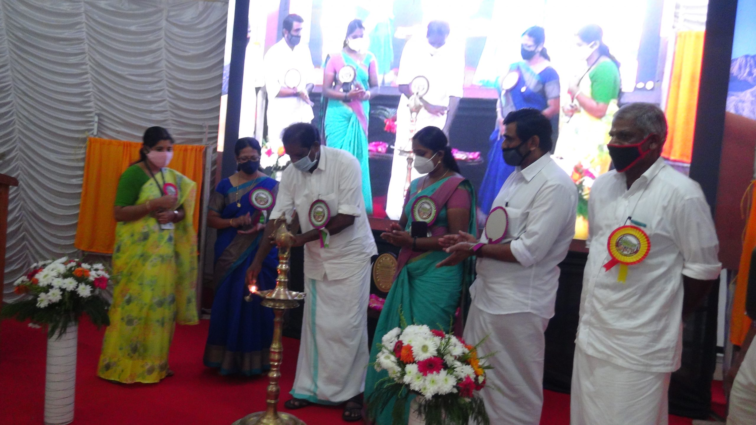 Inauguration Quarters and Hostel on 27/10/2020